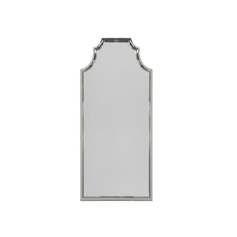 worlds away finley floor mirror silver leaf