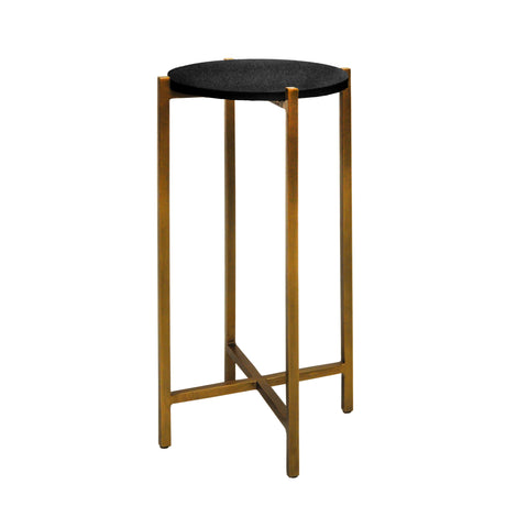 worlds away fitz cigar table black and antique brass