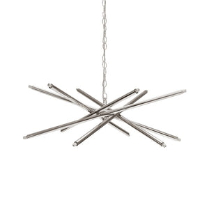 worlds away luisa nickel chandelier metal pendant