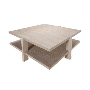 worlds away medford coffee table grey cerused oak angle