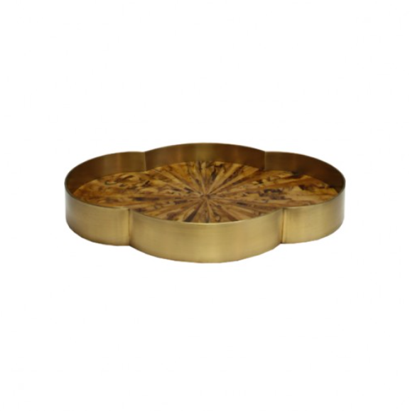 Worlds Away Olana Tray Bone Living Room Serving Party