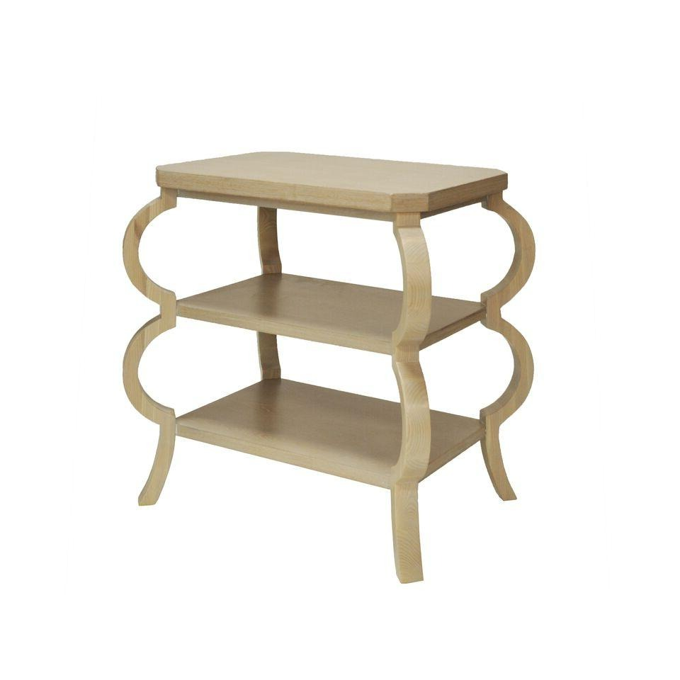 worlds away olive side table cerused oak
