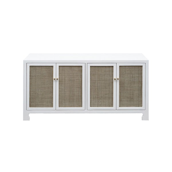 worlds away sofia cabinet white lacquer