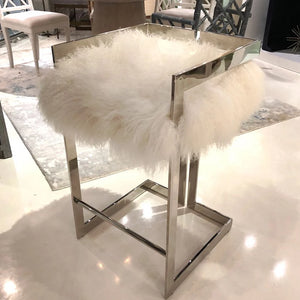 worlds away emmett stool fur