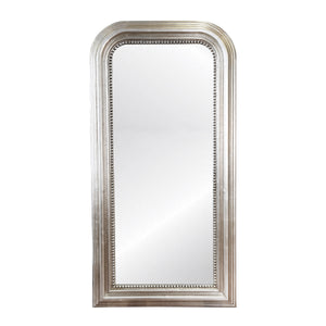 worlds away waverly floor mirror silver