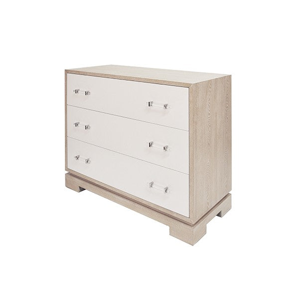 worlds away whitney chest bedroom storage cerused oak side view