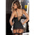 Rene Rofe - Hollywood Chemise with G String S/M (Black)