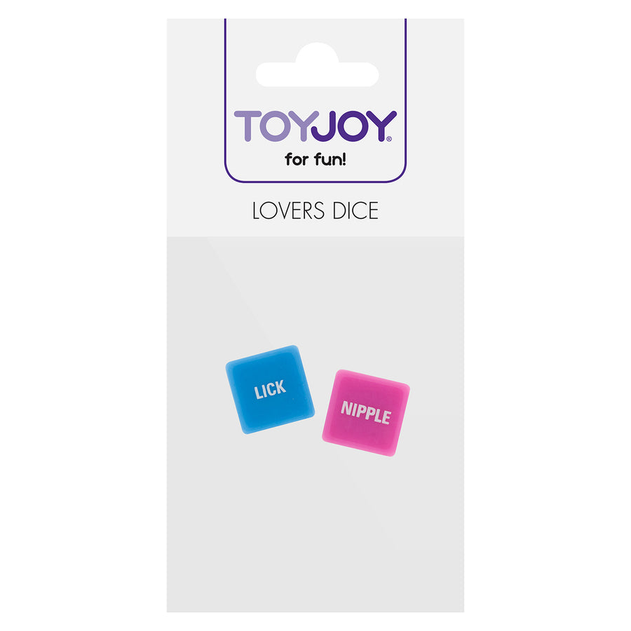 ToyJoy - Lovers Dice (Pink/Blue)