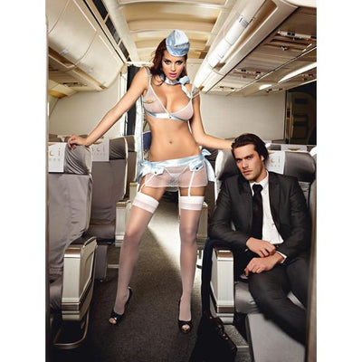 Baci - First Class Flight Attendant Costume One Size Costumes Durio Asia