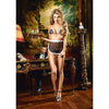 Baci - Maid Lace Bikini Costume One Size (Black) Costumes Durio Asia