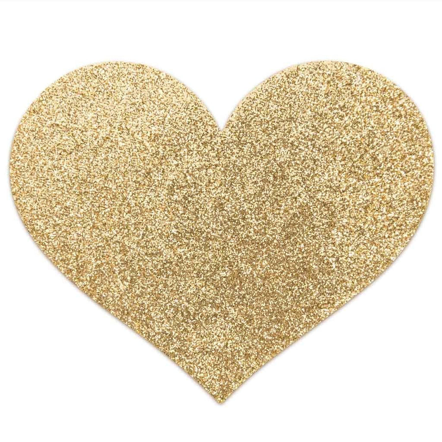 Bijoux Indiscrets - Flash Heart Pasties (Gold)