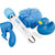 Bodywand - 5-piece Bathtime Wand Massager Gift Set (Blue)
