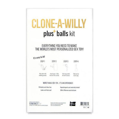Clone A Willy - Penis plus Balls Molding Kit - PleasureHobby