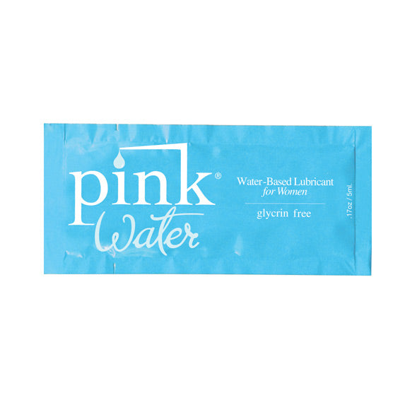 Pink - Water Based Lubricant for Women 5 ml (Lube)