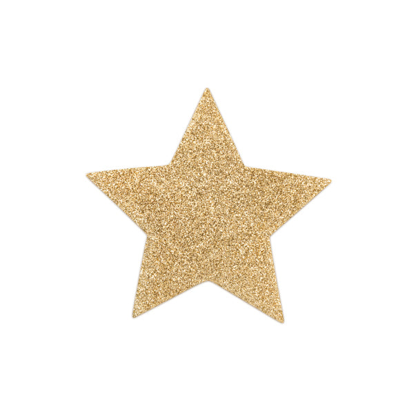 Bijoux Indiscrets - Flash Star Pasties (Gold)