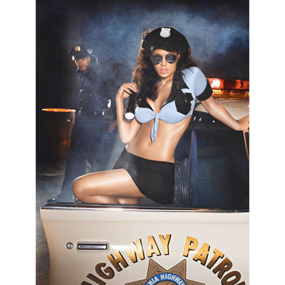 Baci - Highway Patrol Costume Set One Size