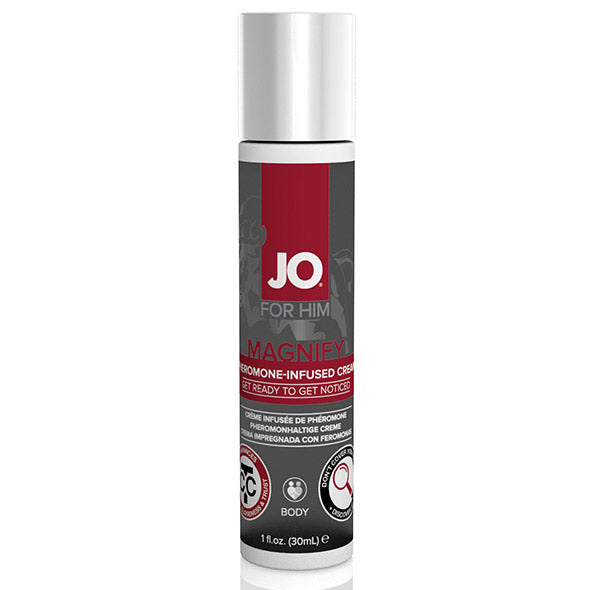 System JO - For Men Magnify Pheromone-Infused Cream 1 oz
