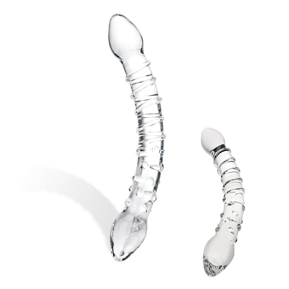 Glas - Double Trouble Glass Dildo