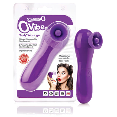 The Screaming O - Ovibe Clit Massager (Grape)