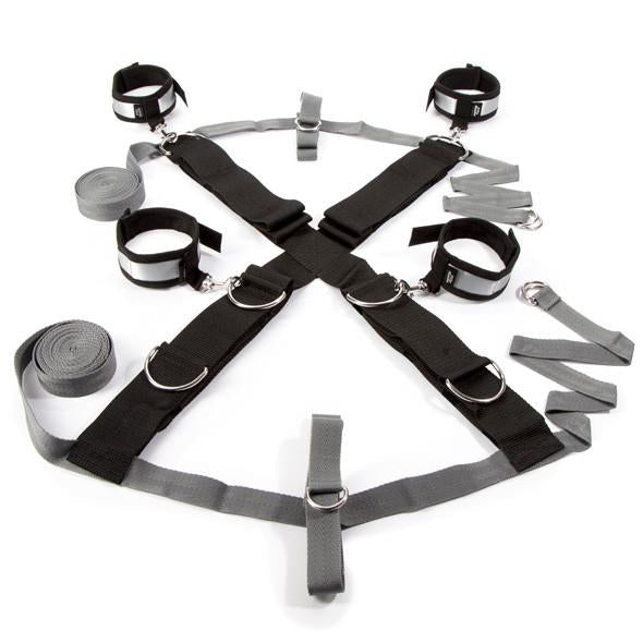 Fifty Shades of Grey - Keep Still Over the Bed Cross Restraint Set Bed Restraint Durio Asia