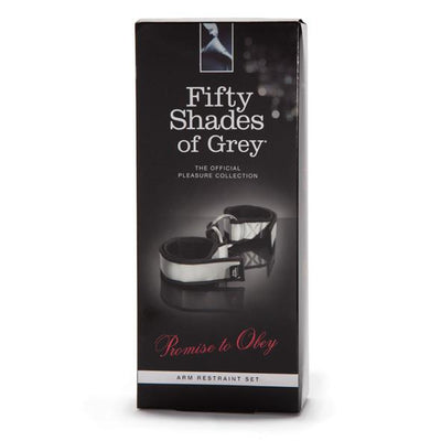 Fifty Shades of Grey - Promise to Obey Arm Restraint Set Hand/Leg Cuffs Durio Asia