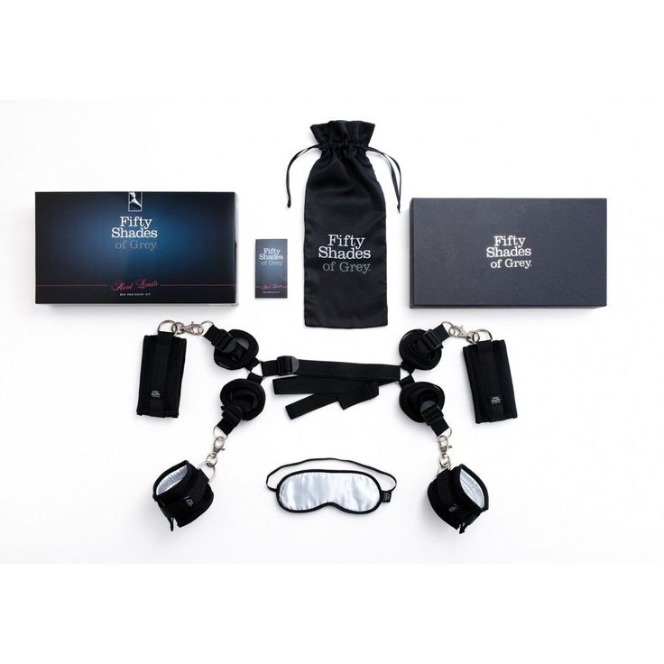 Fifty Shades of Grey - Hard Limits Bed Restraint Kit Bed Restraint - CherryAffairs Singapore