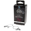 Fifty Shades of Grey - Pleasure and Pain Nipple Rings Nipple Clamps (Non Vibration) Durio Asia