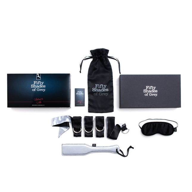 Fifty Shades of Grey - Submit to Me Beginners Bondage Kit