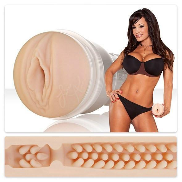 Fleshlight - Fleshlight Girls Lisa Ann Lotus Masturbator (Barracuda) - PleasureHobby