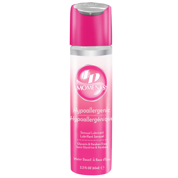 ID Lube - Moments Hypoallergenic Lubricant Flip Cap Bottle 2.2 oz (Lube)