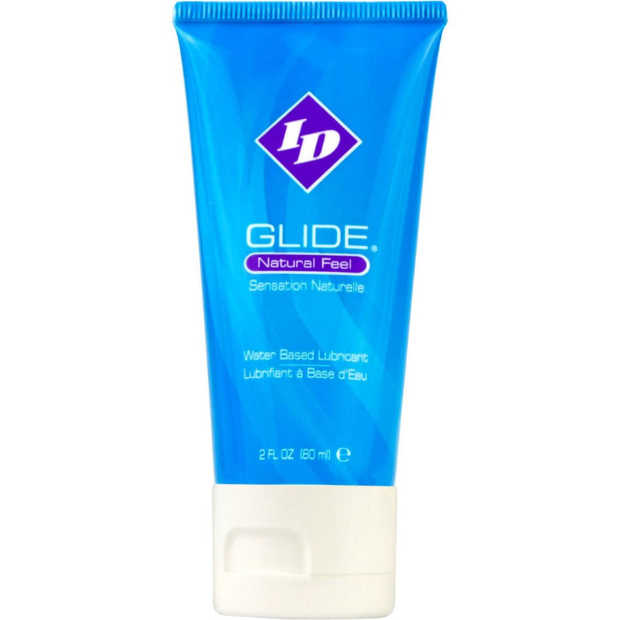 ID Lube - Glide Natural Feel Water Based Lubricant Travel Tube 2 oz - PleasureHobby