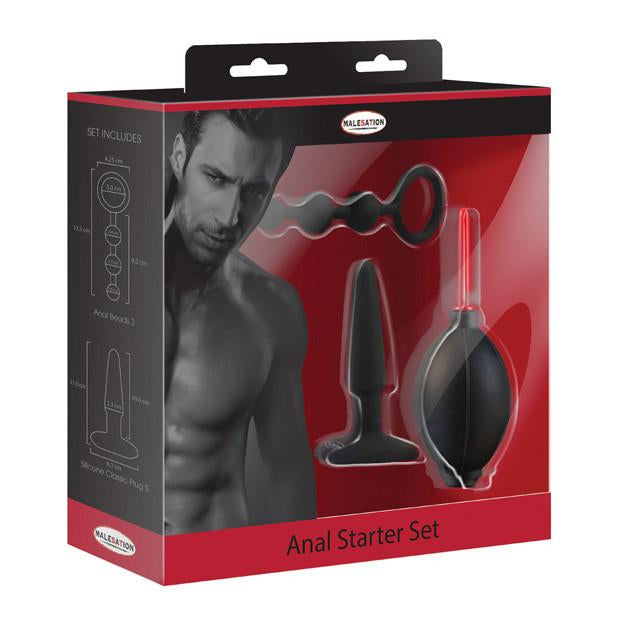 Malesation - 3 Piece Anal Starter Set - PleasureHobby
