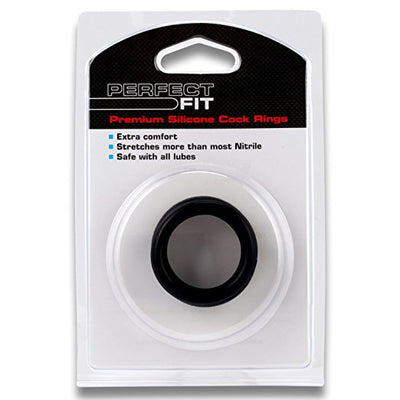 Perfect Fit - 3 Cock Ring Kit Mix (Black)