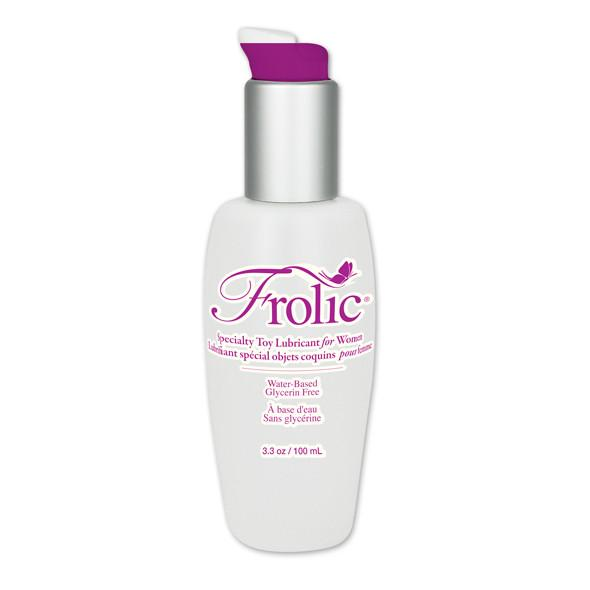 Pink - Frolic Lubricant for Women 100ml - PleasureHobby Singapore
