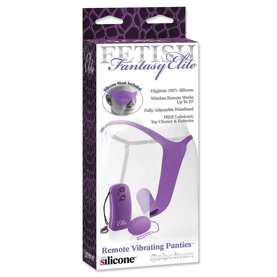 Pipedream - FF Elite - Remote Vibrating Panties (Purple)