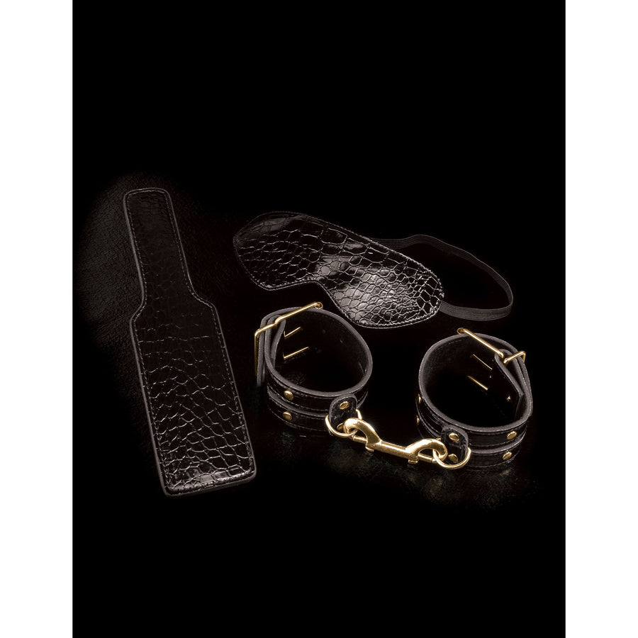 Pipedream - Fetish Fantasy Gold Fantasy Bondage Kit - PleasureHobby