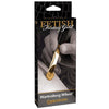 Pipedream - Fetish Fantasy Gold Wartenberg Wheel (Gold) - PleasureHobby