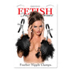 Pipedream - Fetish Fantasy Series Feather Nipple Clamps - PleasureHobby