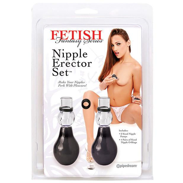 Pipedream - Fetish Fantasy Series Nipple Erector Set (Black) - PleasureHobby