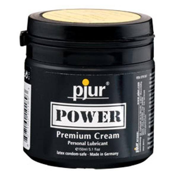 Pjur - Power Premium Cream Silicone Based Lubricant 150ml - PleasureHobby Singapore