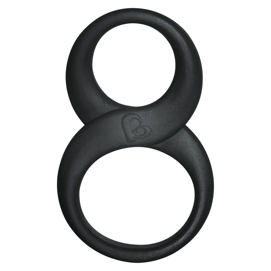 RocksOff - 8 Ball Cock Ring (Black)