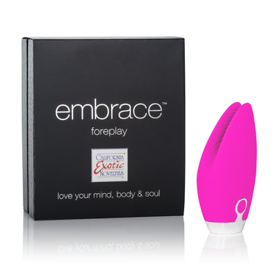 California Exotics - Embrace Foreplay Vibrator (Pink) Bullet (Vibration) Rechargeable Durio Asia