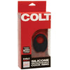 Colt - Rechargeable Silicone Cock Ring (Black) Silicone Cock Ring (Vibration) Rechargeable Durio Asia