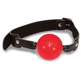 Sex and Mischief - Solid Red Ball Gag