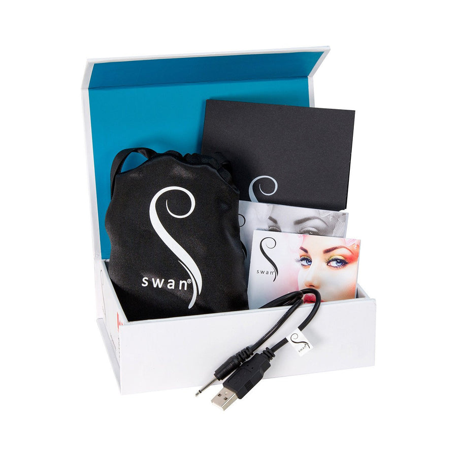 Swan - The Swan Kiss Squeeze Control Vibrator (Teal)