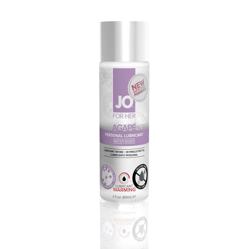 System JO - For Women Agape Lubricant 60 ml (Warming)