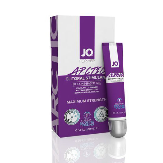 System JO - For Women Arctic Clitoral Stimulant Silicone Gel 10 ml
