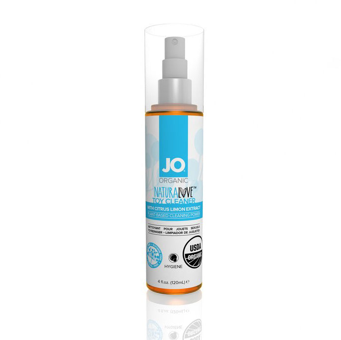 System JO - Organic Naturalove Toy Cleaner 120 ml (Citrus Limon Extract)