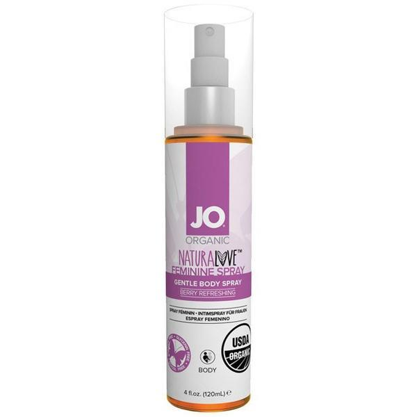 System Jo - Organic Naturalove Feminine Berry Refreshing Spray 120ml