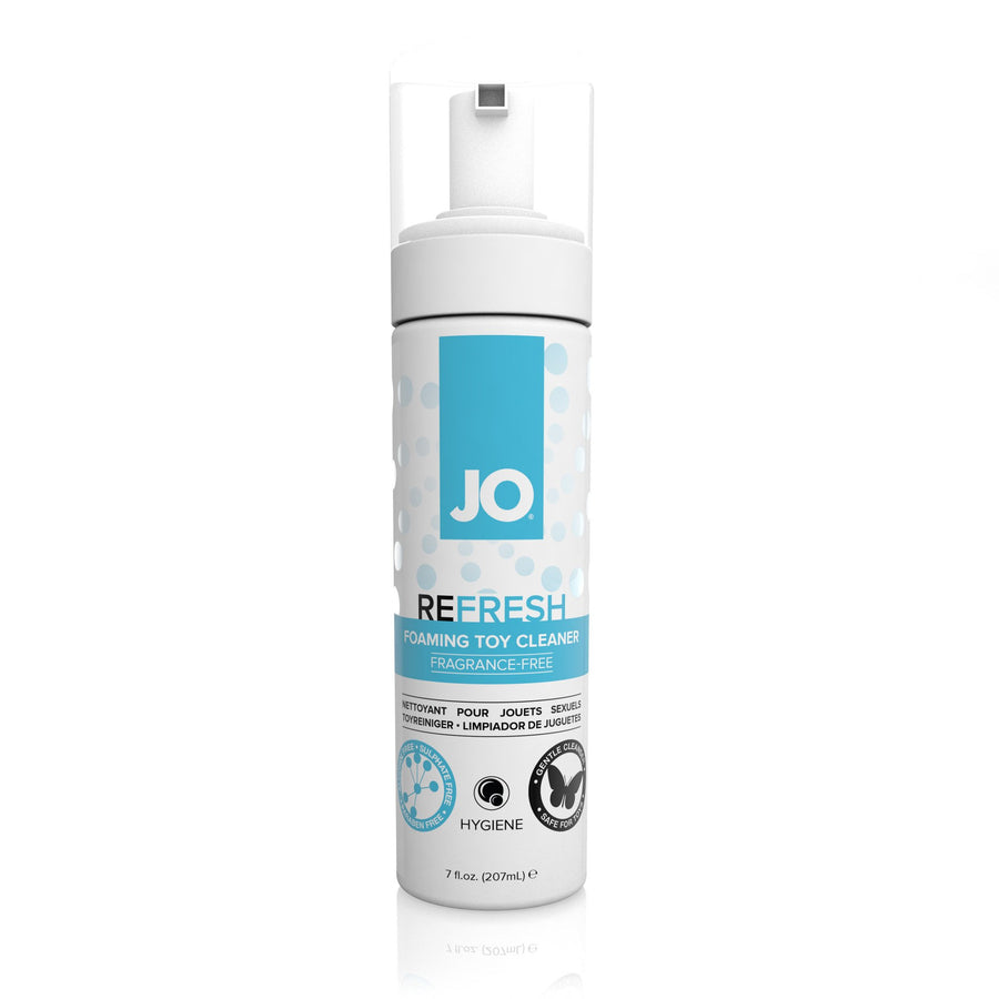 System JO - Refresh Foaming Toy Cleaner 207 ml - PleasureHobby